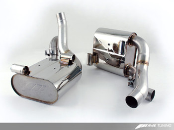 AWE Performance Muffler Set for Porsche 997.2 (09-12) Carrera / S