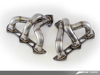 AWE Performance Exhaust Porsche GT2 RS - Polished Silver Tips