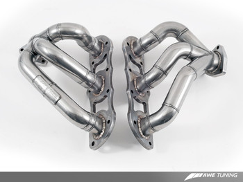 AWE Performance Header Set for Porsche 997.2 (09-12) Turbo / S