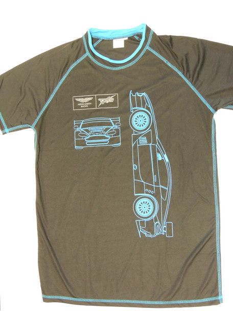 Aston Martin Racing/ TRG GT3 Blue Outline Shirt