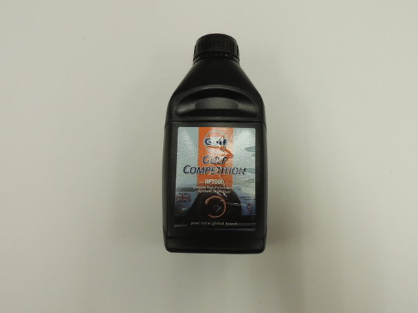 Gulf Competition Extreme high performance Synthetic Brake fluid