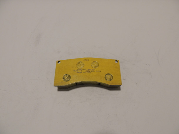 PAGID RACING BRAKE PADS YELLOW E-1674-29