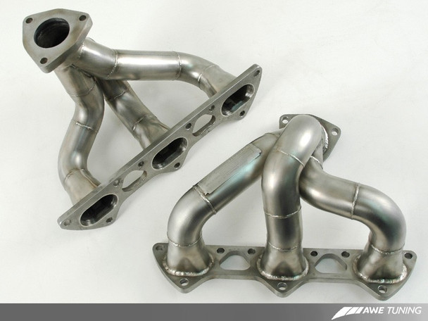 AWE Performance Header Set for Porsche 996 / 997 (01-12) Turbo / GT2 / GT2 RS  3.6L