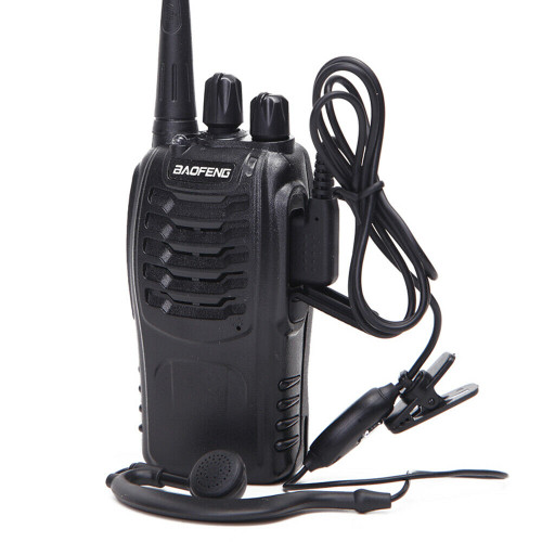 BAOFENG BF-888S PMR446 Walkie Talkies Long Range Two Way Radio License-Free with Earpieces