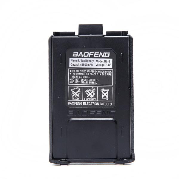 Genuine BaoFeng Li-ion Battery 1800mAh for UV-5R BF-F8+ Series Two Way Radio