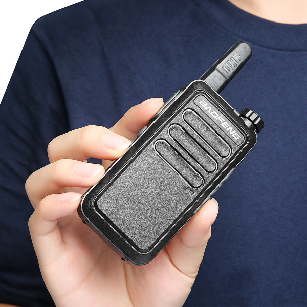 8x Baofeng BF-R5 Slim UHF Walkie Talkies Long Range Two Way Ham Radio + Earpiece