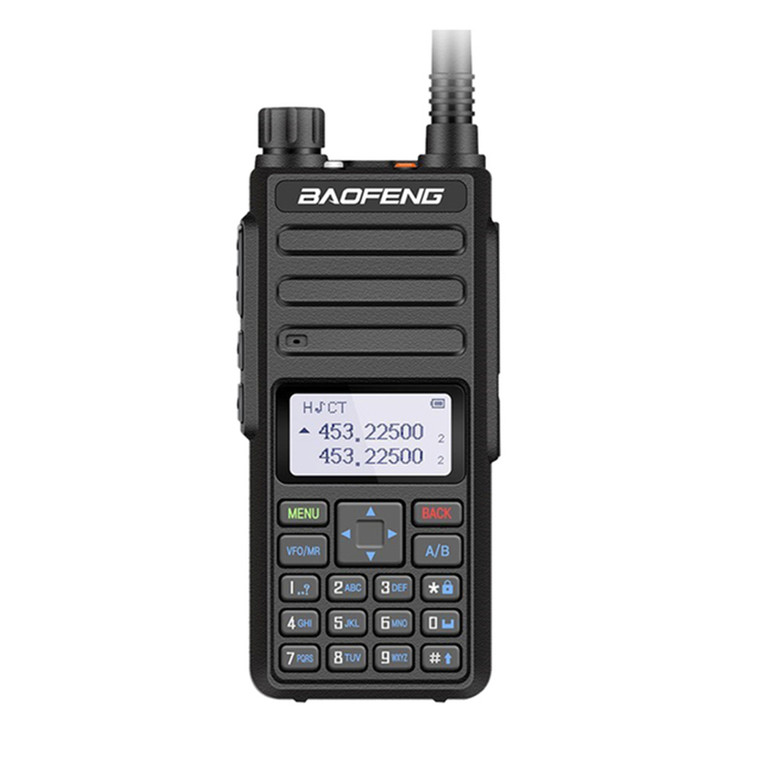 Baofeng BF-H6 10W Walkie Talkie UHF VHF 136-174/400-470MHz Two Way Radio Long Range  + Earpiece
