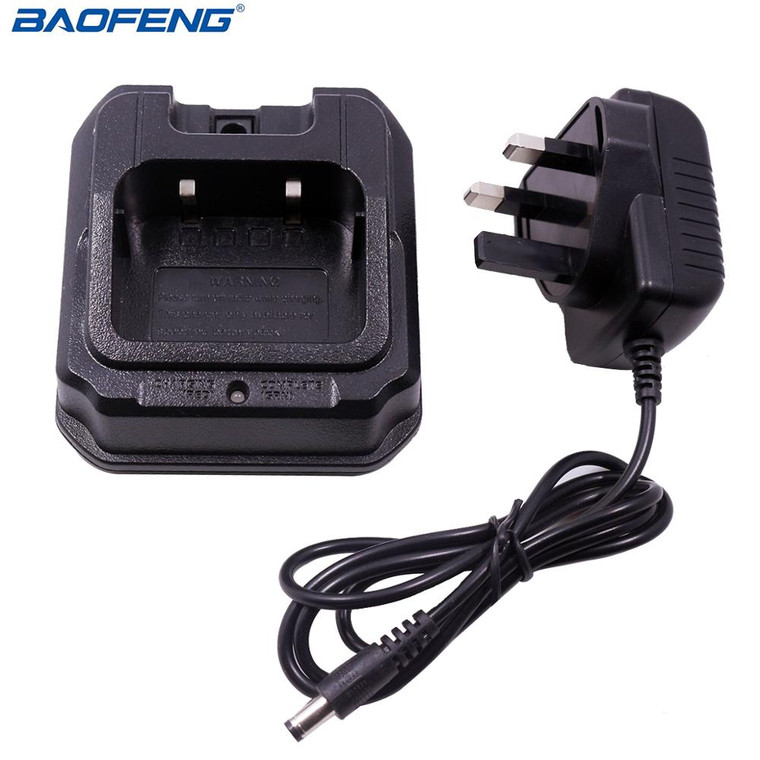 BAOFENG Original For UV-9R UV-9R Plus Radio Battery Charger Base with UK Charger