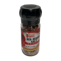 Carolina Reaper and Atlantic Sea Salt Grinder