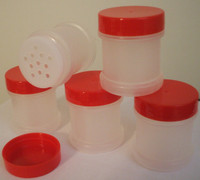 Qty 20 Spice Jars with Sifter and Cap