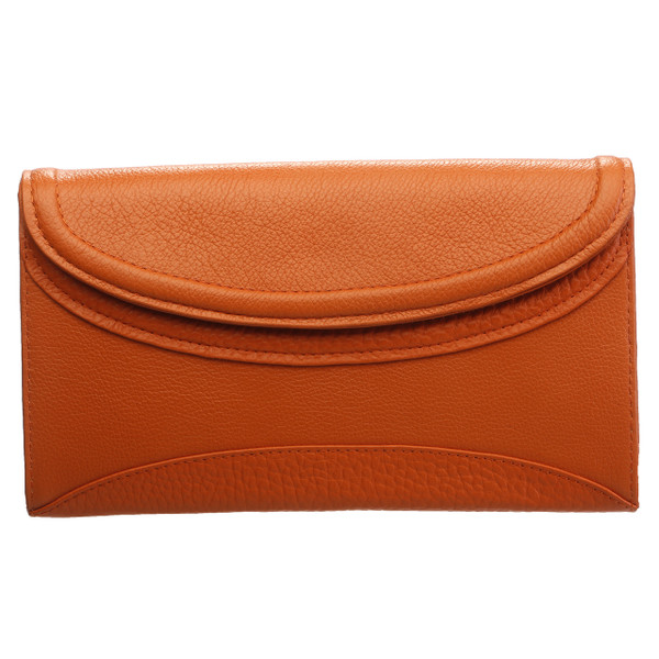 FRIDA. LEATHER LARGE CLUTCH