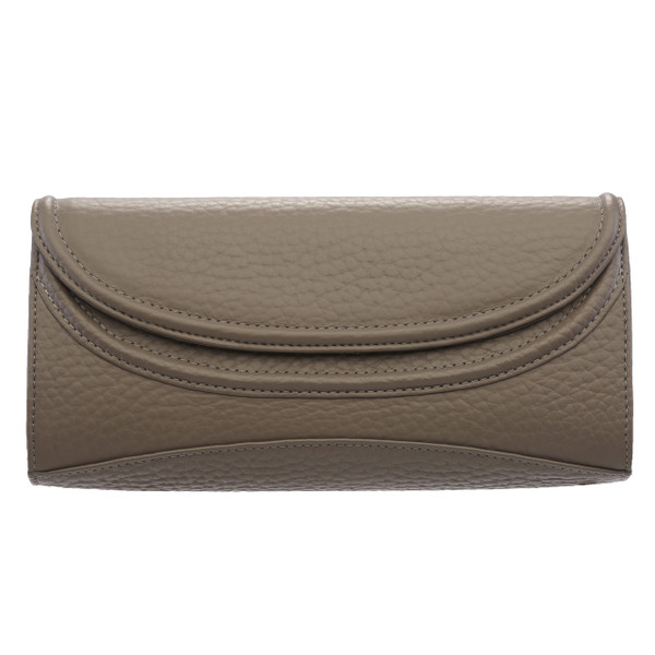 AUDREY. LEATHER SIMPLE CLUTCH