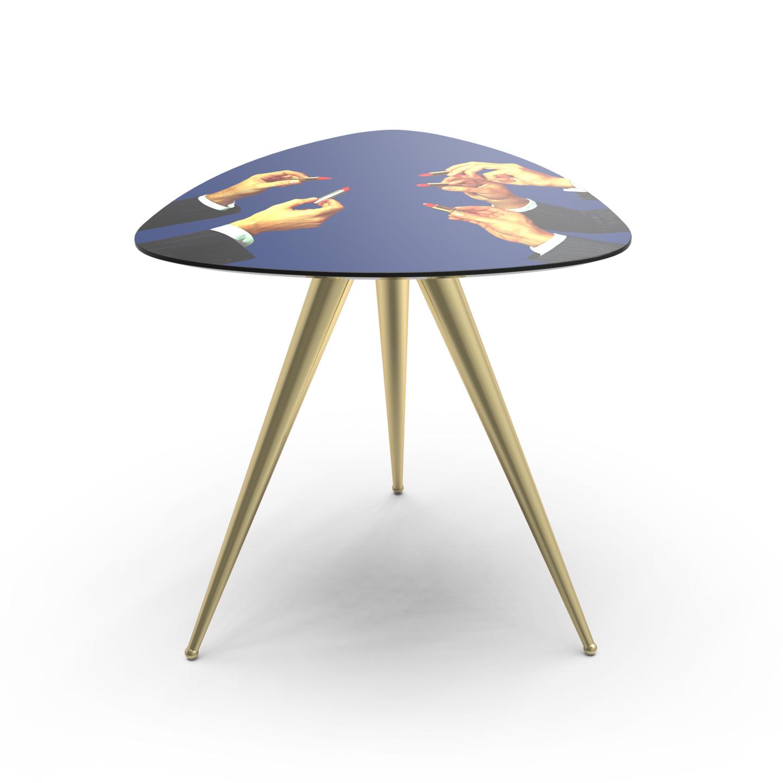 Side Table Bureau.Lipsticks Side Table Blue