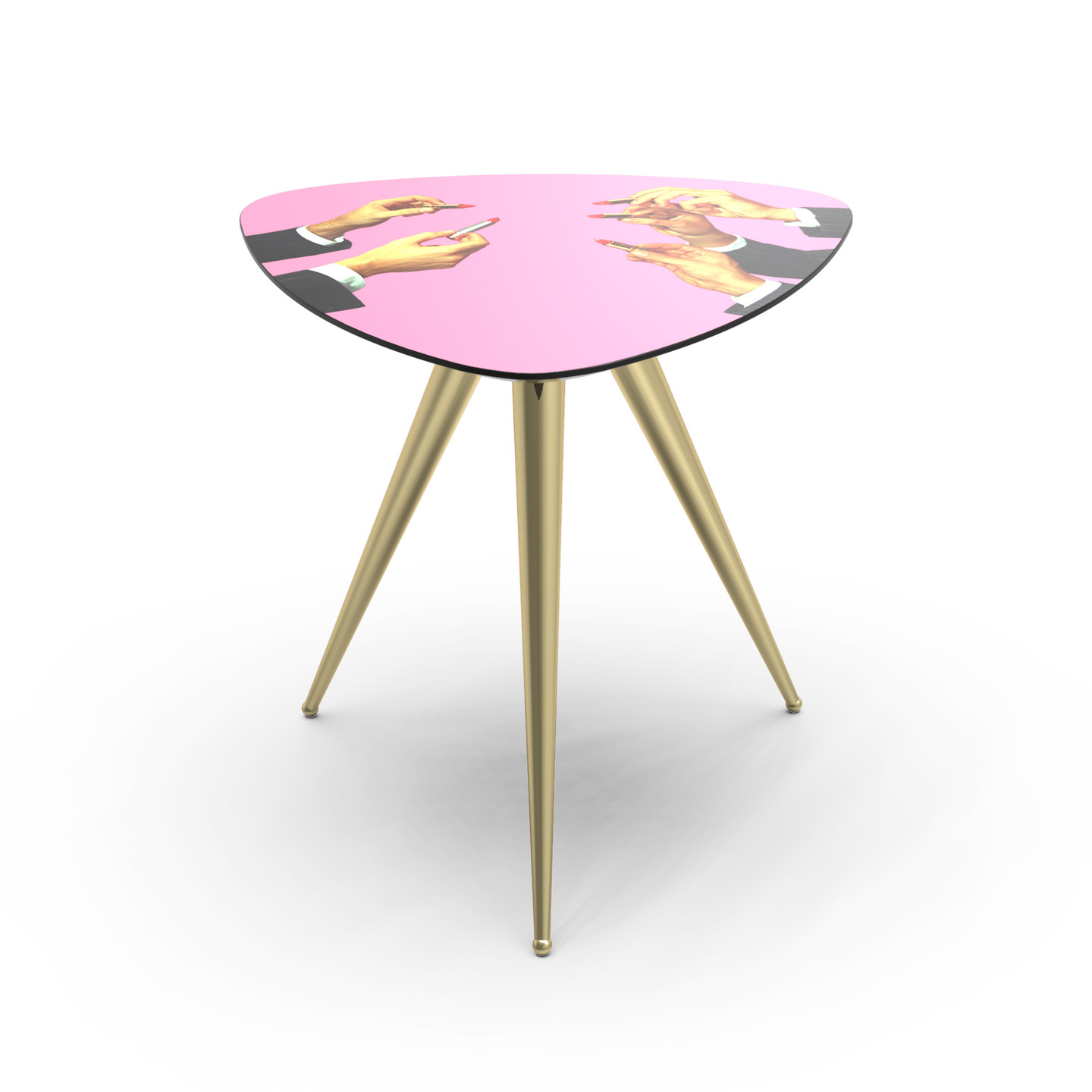 Side Table Bureau.Lipsticks Side Table Pink