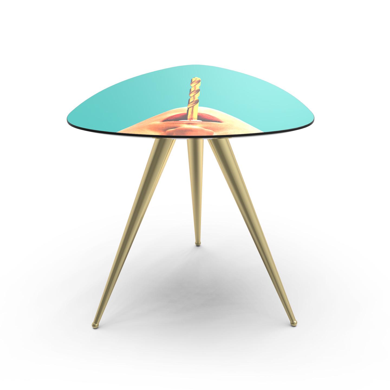 Side Table Bureau.Drill Side Table