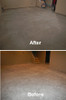 SealGreen Color Stain primer Cleaner before and after