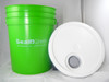 5 Gallon Pail with lid and pour spout