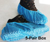 Shoe Guards with Anti-Slip Pattern fit most shoes available in 5-pairs per box