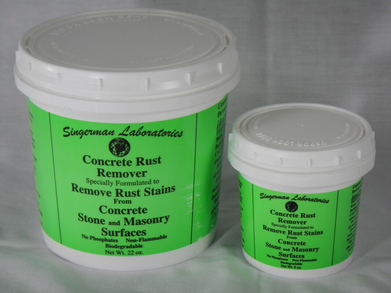 Rust Remover For Concrete Stone And Masonry Surfaces Singerman