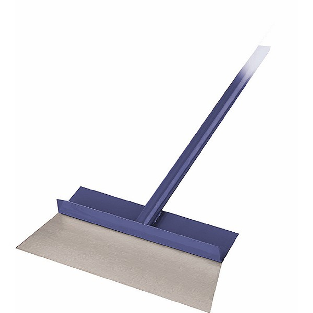 Snow and Ice Melter A Superior Product For Concrete the snow or ice can be removed with a floor scraper