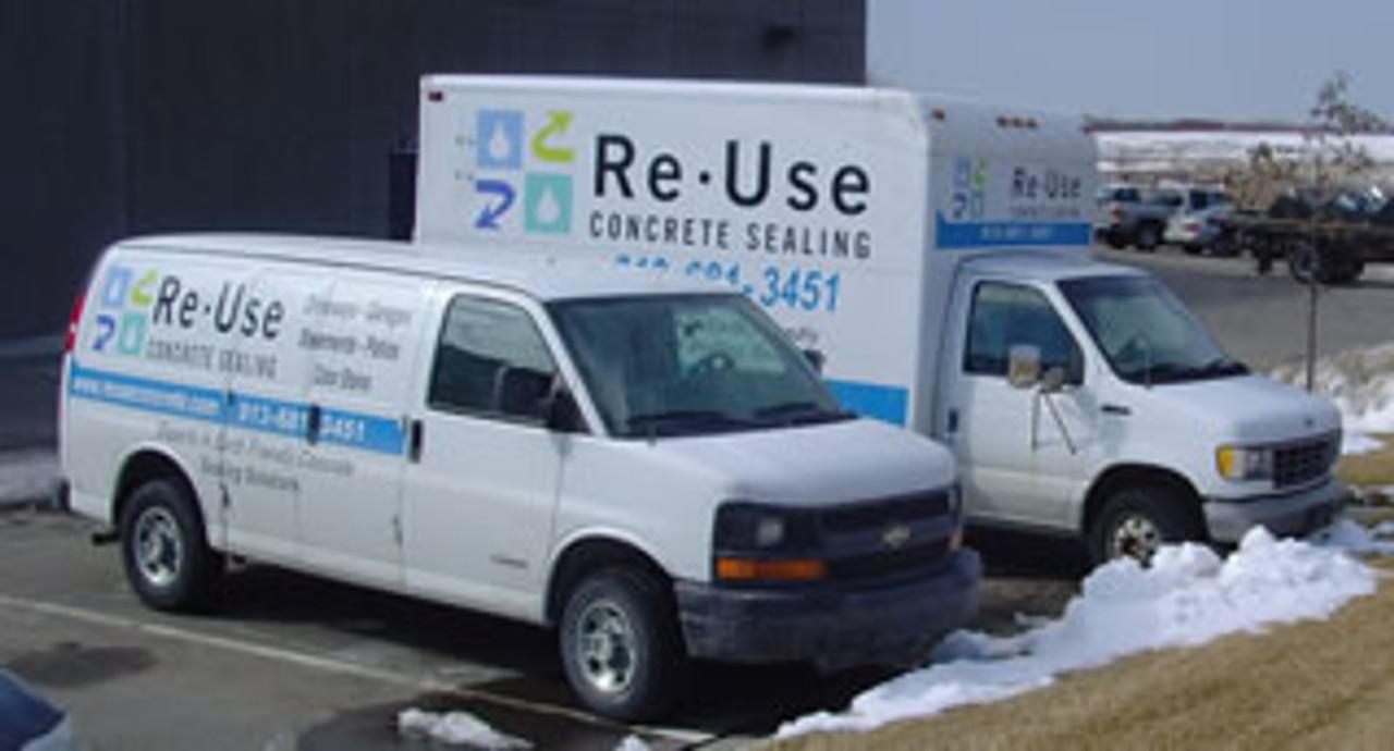 SealGreen - ReUse Concrete Service Trucks