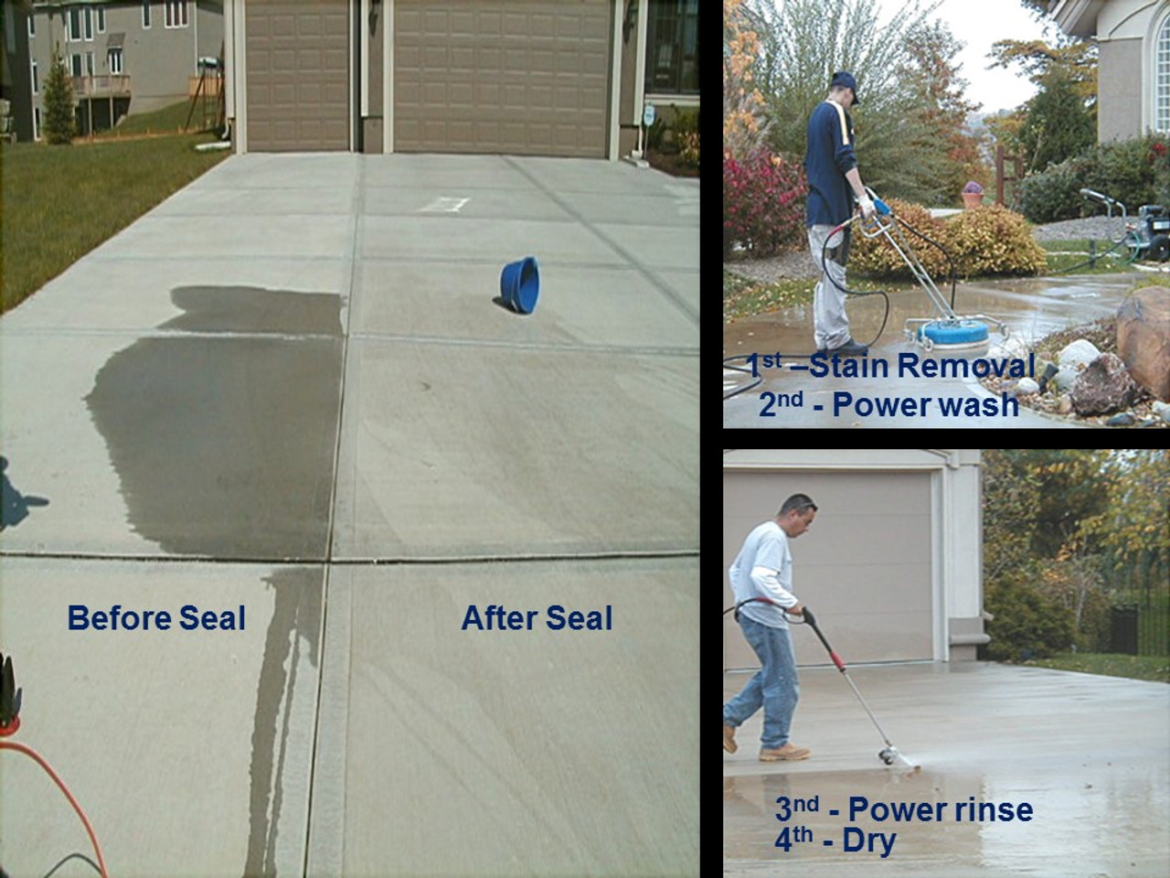 Concrete Sealing process