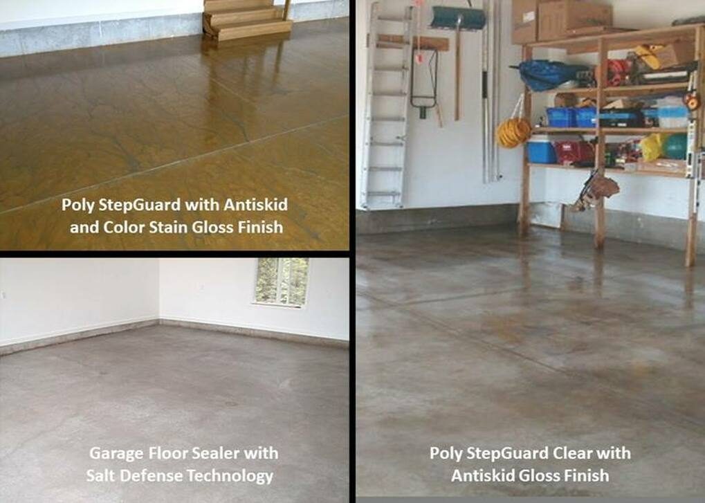 I Want To Seal My Garage Floor What Options Do I Have
