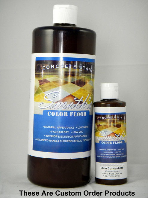 Bright Lights Colors Available in 4oz and Quart Bottles in Concentrate form - These are custom order colors