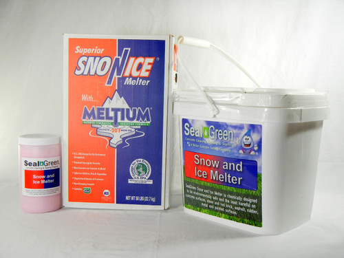 Snow and Ice Melter A Superior Product For Concrete