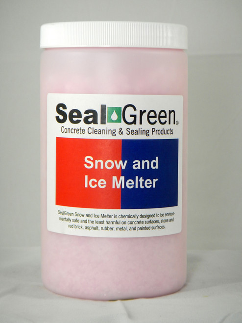 1- Quart of Snow and Ice Melter for emergencies