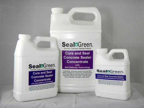 SealGreen Cure and Seal Concentrate Sealer