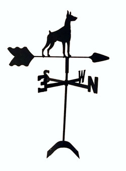 TLS1049RM Doberman Roof Mount Weathervane