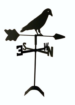 TLS1048RM Black Crow Roof Mount Weathervane