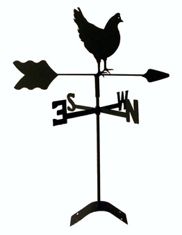 TLS1025RM Hen Chicken Roof Mount Weathervane