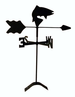 TLS1018RM Fish Roof Mount Weathervane