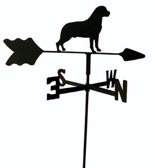 TLS1044IN Rottweiler Garden Style inground Weathervane