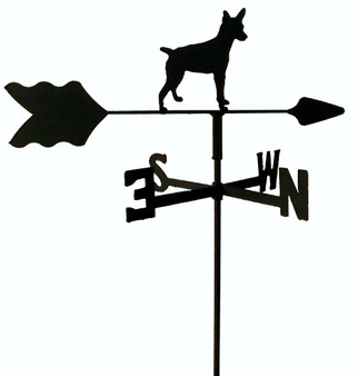 TLS1041IN Rat Terrier Garden Style inground Weathervane
