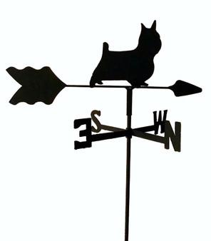 TLS1054IN Silky Terrier Garden Style inground Weathervane