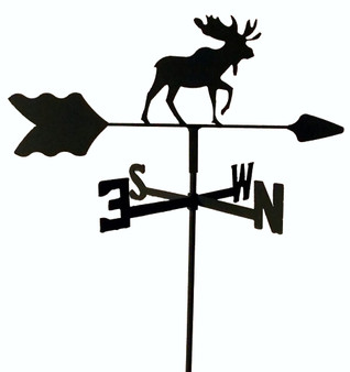 TLS1030IN Moose Garden Style inground Weathervane