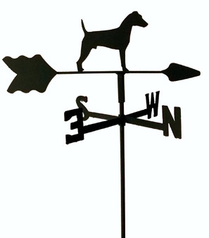 TLS1028IN Jack Russell Garden Style inground Weathervane