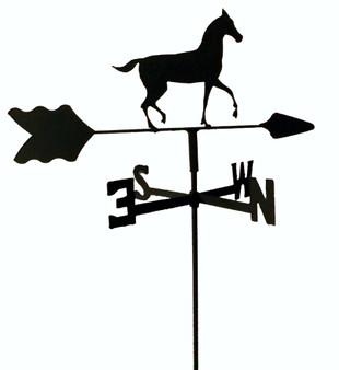 TLS1026IN Horse Garden Style inground Weathervane