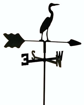 TLS1017IN Egret Garden Style inground Weathervane