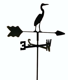 TLS1055IN Blue Heron Garden Style inground Weathervane