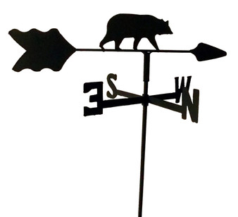 TLS1013IN Bear Garden Style inground Weathervane