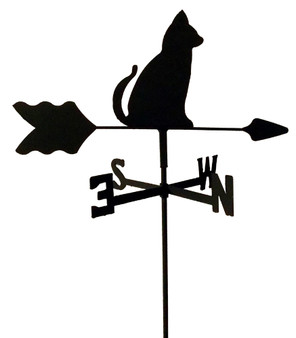 TLS1007IN Cat Garden Style inground Weathervane