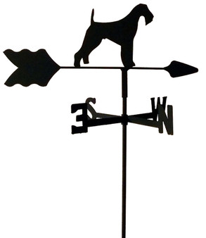 TLS1002IN Airedale Terrier Garden Style inground Weathervane