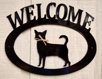 Chihuahua Welcome Sign