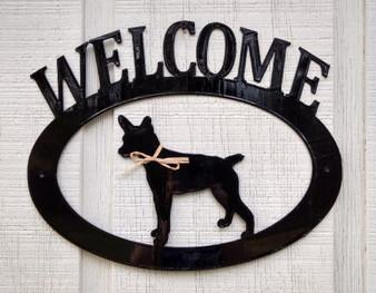 Rat Terrier Welcome Sign