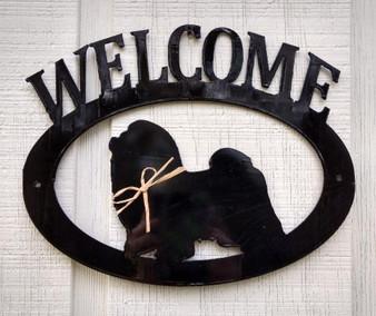 Shih Tzu Welcome Sign