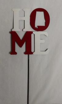 Home Alabama Red & White